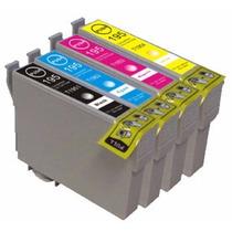 4 Cartuchos Compatible Xp241 Xp431 Triple Carga Envío Gratis