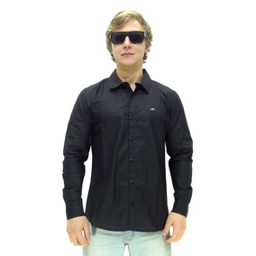 Camisa Manga Longa Maresia Lorde Black