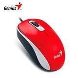 Mouse Genius Dx-110 Usb Red 1200dpi Pc-notebook Stock