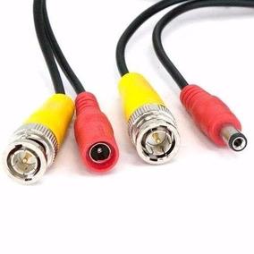 Cable Video/dc De Bnc(m) Dc(m) A Bnc(m) Dc (h) 20m Cctv