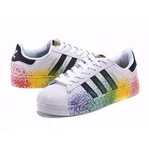 Adidas Superstar Color Lançamento Importado Original 2016