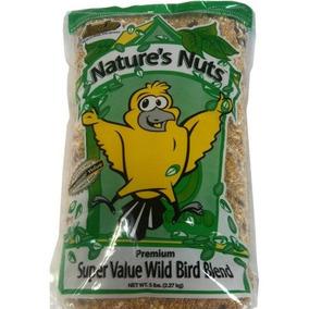 Natures Nueces 193076 Semillas De Aves Silvestres 5 Lb