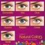 Lente De Contato Solflex Natural Colors - Com Grau