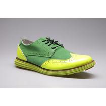 Zapato Oxford De Hombre Marca Altoretti, Elaborado En Cuero
