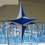 Estrela Em Tecido P/ Decoração Helanca Fina Tamanho 70 Cm