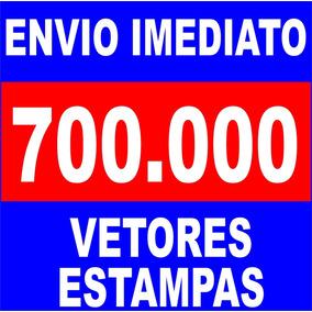Kit 700mil Estampas Sublimação Camiseta Caneca Chinelo Vetor
