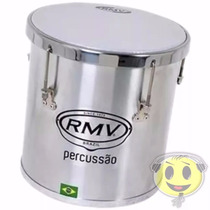 Repique De Mao Rmv Aluminio Percussão 10x30 - Loja Kadu Som