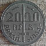 Rara 1935 - 2000 Reis No Reverso A Cara Do Caxias - Ag Fc