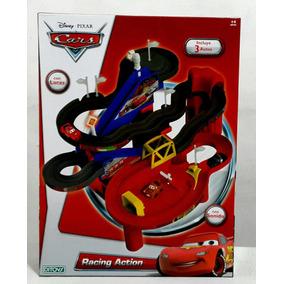 Cars Racing Action Pista Con Luces + 3autos Nueva Ditoys Tv