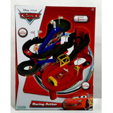Cars Racing Action Pista Con Luces + 3autos Nueva Ditoys Tv