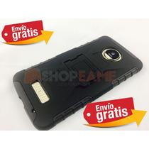 Funda Moto Z Play / Z Protector Uso Rudo Clip Resistente