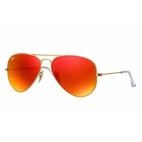 gafas ray ban rojas