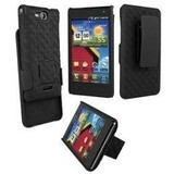 Verizon Shell Holster Combo Para Lg Vs840 Lucid