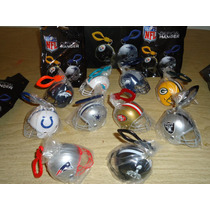 Mini Casco Llavero Nfl Official Hanger Original