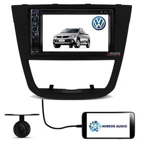 Central Multimídia Dvd Saveiro G5 Tv Câmera Ré Bluetooth Usb