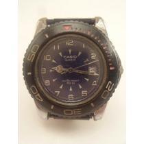 Lindo Relógio Casio Mtp-3002 - Maquina Do Tempo