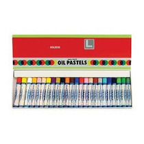 Gis Pastel Oil Aceite 24 Colores Graso Holbein