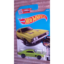 Hot Wheels 69 Dodge Charger 500 Verde