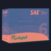 Aspel Sae V6.0-sistema Administrativo 1 Usr 99 Emp Xswr C1b