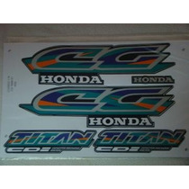 Faixa Adesiva Cg Titan 125 Azul 97 Lucas Motos