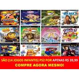Madagascar 2 Playstation 2 Infantis (14 Jogos Ps2 Criança