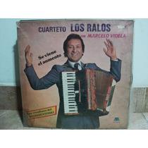 Disco Vinilo Cuarteto Los Ralos Con Marcelo Videla Lp Nuevo