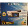 Filmadora Cámara Sony Ccd-trv58 20xopzoom 460xdizoom Hi8mm