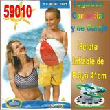 Pelota Inflable Playa Piscina Niños Intex 59010 41cm Diametr