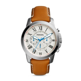 Reloj Fossil Grant Chronograph Fs5060p Envio Gratis