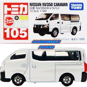 Tomica Carro Nissan Caravan Nv350 1/69 Metalico Camioneta