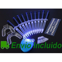 Kit Blanqueamiento Dental Con Lámpara Ultravioleta 44% Peróx