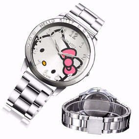 Reloj Hello Kitty Metal Acero Inoxidable. Envio Gratis!