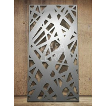 Paneles Decorativos Madera Mdf Routeado Cnc 80x125cm (1m2)
