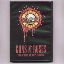 Guns N Roses Welcome To Videos Dvd Nuevo