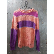 Sweater Pullover Hilo Genoa Para Mujer Buzos Sweaters