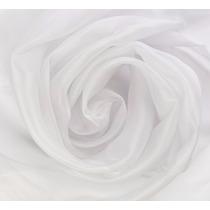 Tecido Voil Branco Liso Para Cortina Com 3 Metros De Largura