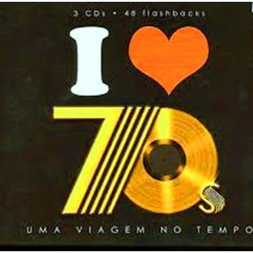 Cd Box Triplo I Love 70`s Uma Viagem No Tempo Funk Black
