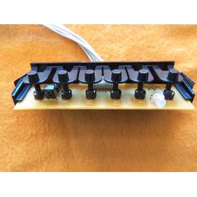 Placa Teclado + Teclado Plástico Tv Led Cce Ln32g Versão A