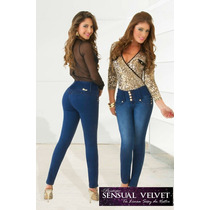 Jeans Modelos Colombianos Levanta 5cm Las Pompas A 99.90 !!