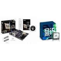Placa-mãe Asus H170-plus D3 + Processador Intel I5 6600