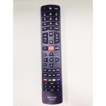 Controle Remoto Tv Philco Rc3100l03 Com Tecla Botao Netflix