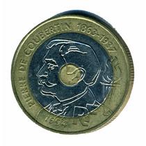 Francia Moneda De 20 Francos Año 1994 Trimetálica Xf