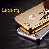 Case Bumper Alumínio Metal Espelhada Celular Iphone 6 /6s