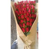 Ramo De 100 Rosas Escalonadas - Flores Maxima Calidad