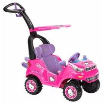 Nuevo Hello Kitty Push Car, Montable Guiado De Bebe Prinsel