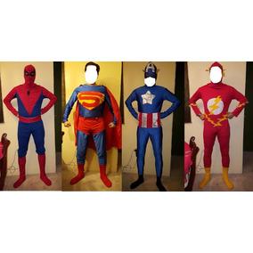 4 Disfraz Santa Sexy Dj Liga De La Justicia Superman Spider