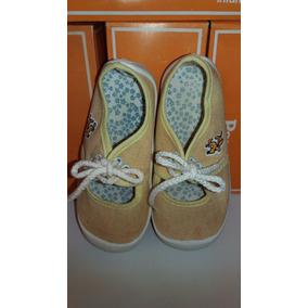 Zapatillas Pampero Niñas Guillermina C/cordón N°24 -oferton!