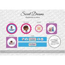 Stickers De Doctora Juguetes Cortados Para Candy Bar