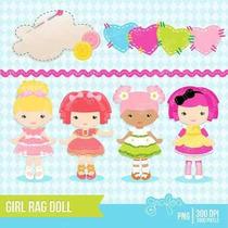 Kit Imprimible Muñecas Lalaloopsy 2 Imagenes Clipart