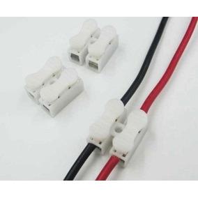 Conector Rápido P/ Fios Sem Solda Sem Parafuso Super Seguro